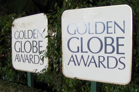 Golden Globe Awards Banner, backup just in case