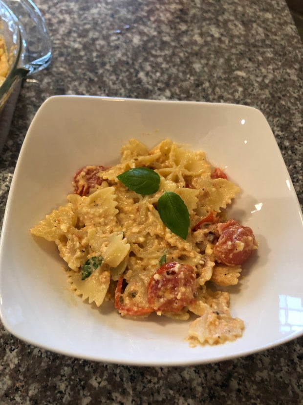 Pasta in bowl