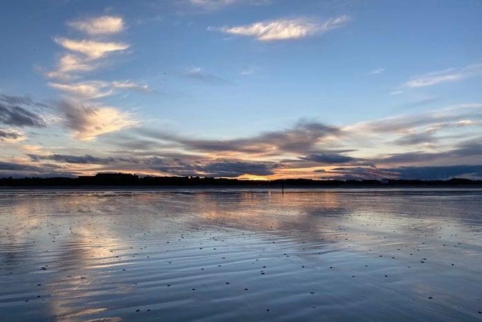 St Andrews Sunset over West Sands