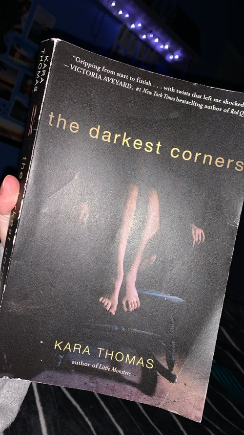 "\""The Darkest Corners\"" Book Cover"