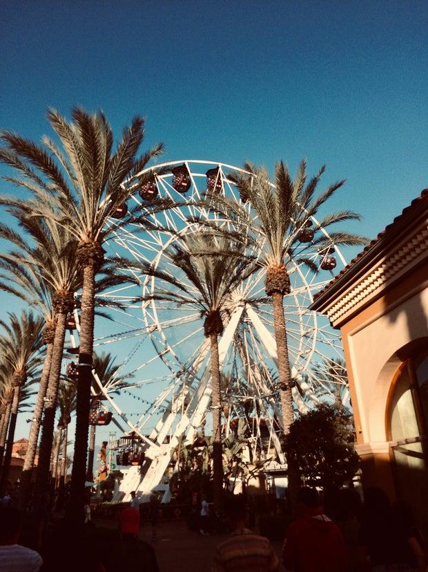 Ferris Wheel at Irvine Spectrum