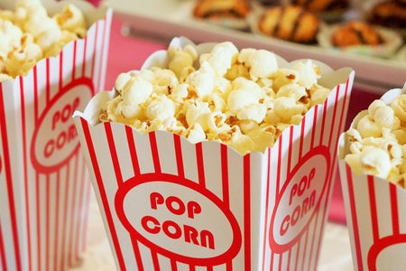 Selective Focus Photography of Popcorns