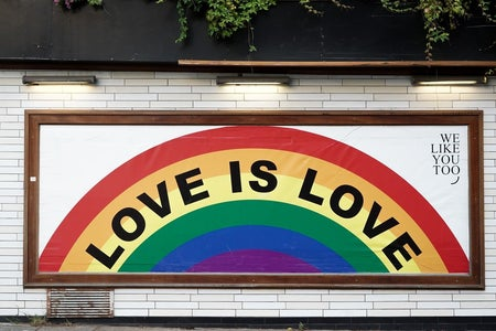 Love is Love mural art