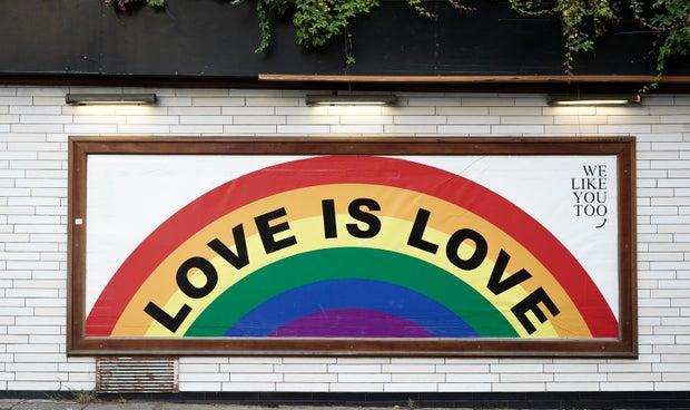 Love is Love mural art