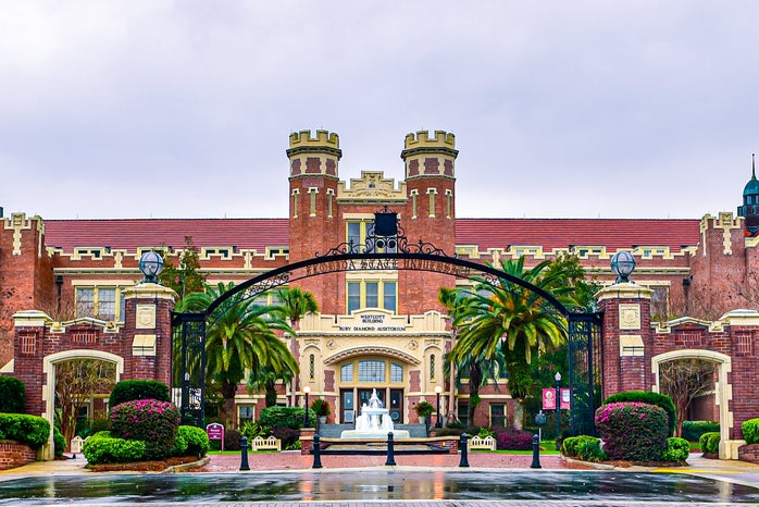 Florida State University Westcott Fountain