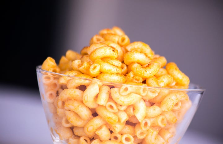 bowl of macaroni