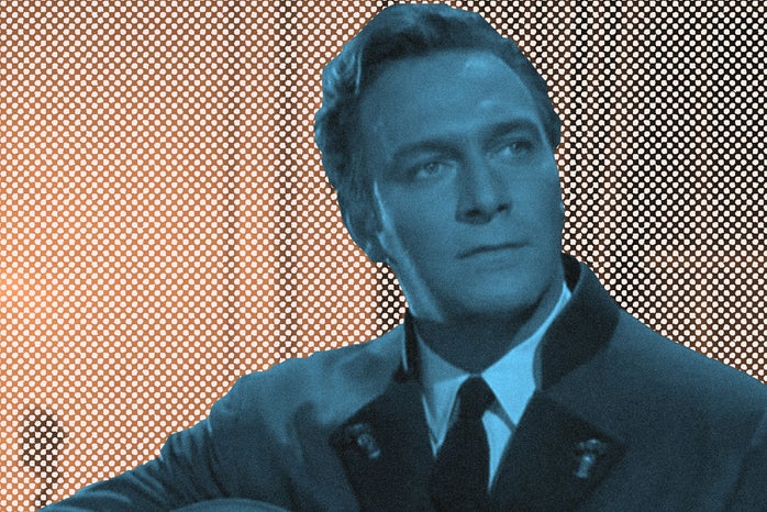 Graphic of Captain von Trapp played by Christopher Plummer in The Sound of Music