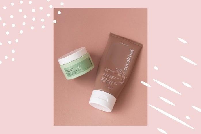 body scrub and matcha moisturizer