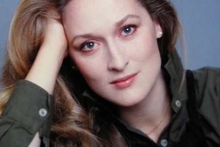 A headshot of Meryl Streep