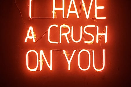 neon sign crush