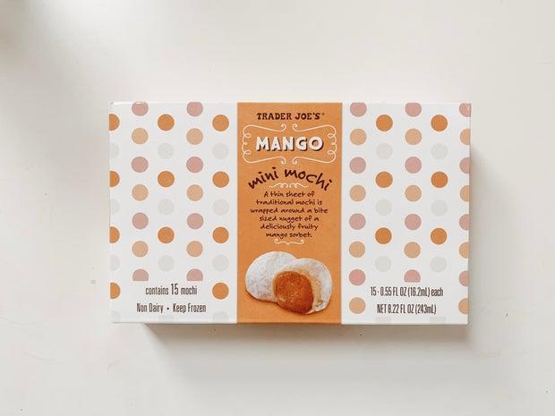 trader joes mango mochi