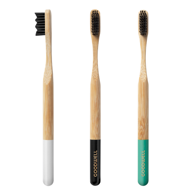 Charcoal toothbrushes