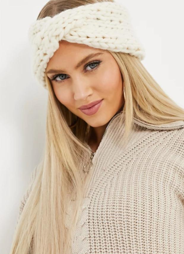 ASOS chunky knit headband