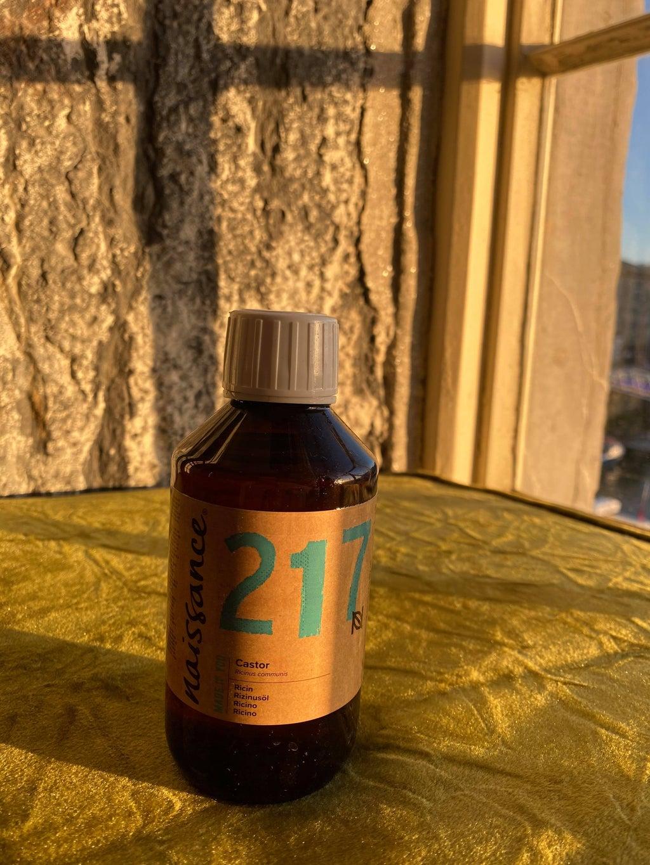 bottle of castor oil for skincare