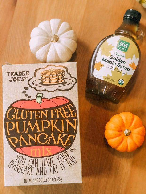 A picture of gluten-free pumpkin pancake mix