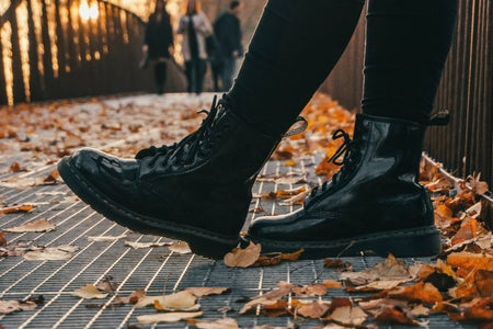 doc marten boots for fall fashion