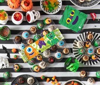 halloween cupcake boxes