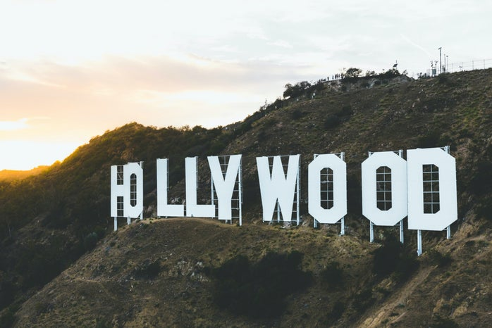 Hollywood Sign from Unsplash in the hills