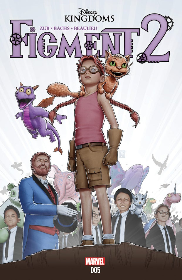 the cover of Figment 2, Issue #5