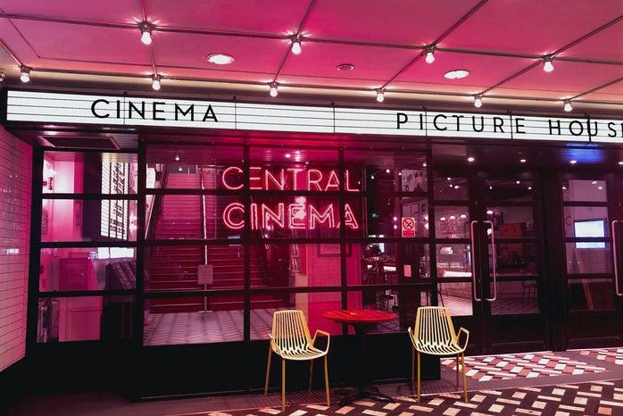 oink neon movie theatre