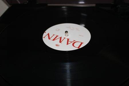 DAMN. vinyl album photo