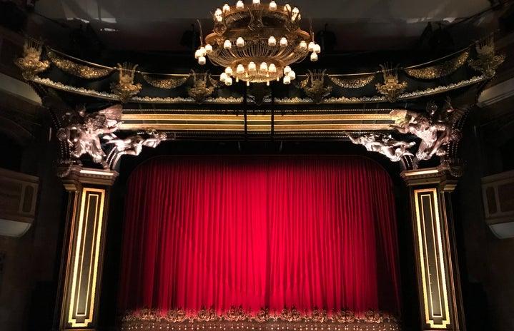 Huge theater