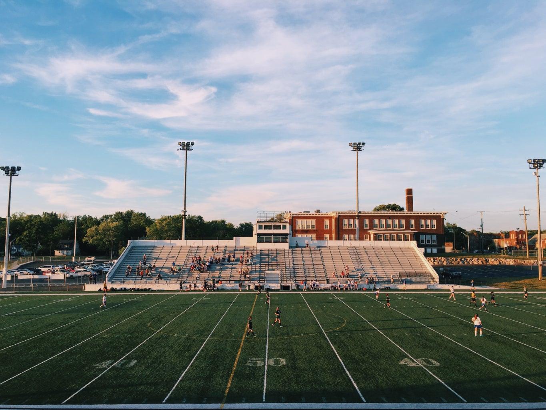 Stadium with audience
