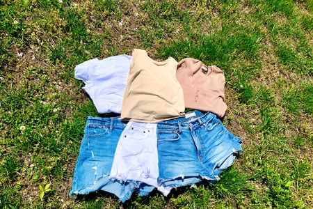clothing flat-lay