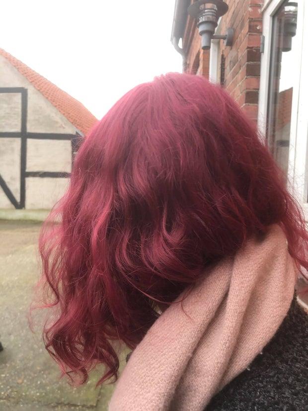 Freya's hair journey 2