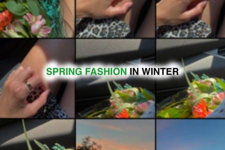 spring fashion hero image