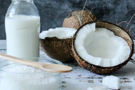 Coconuts and Coconut with sugar