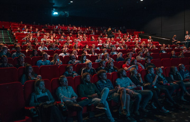 movie theater with people