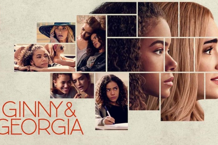 Netflix\'s Ginny and Georgia poster.