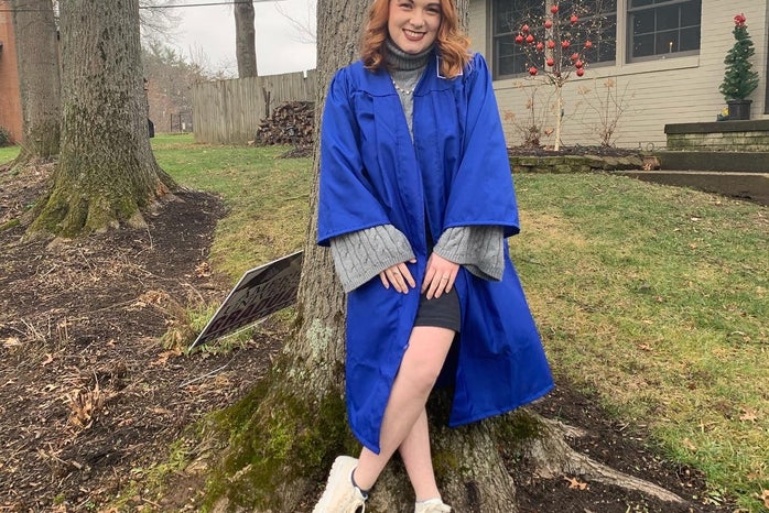 Abby Henry, Graduation