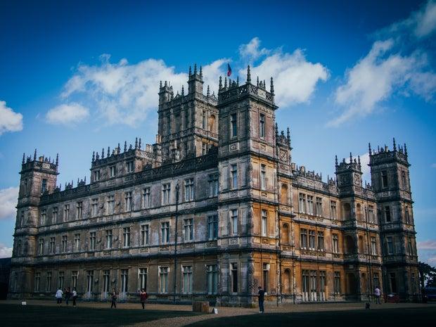 Downton Abbey castle
