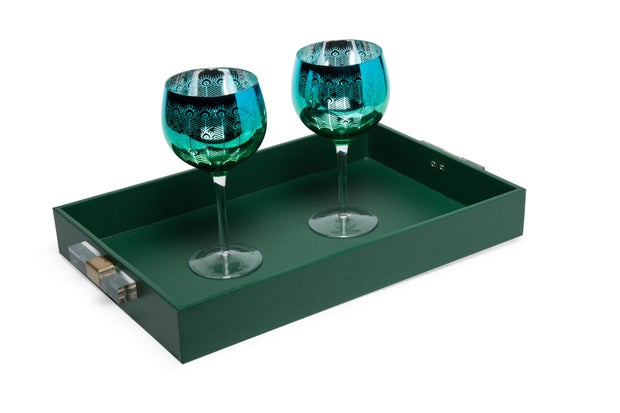 Emerald Serving Tray