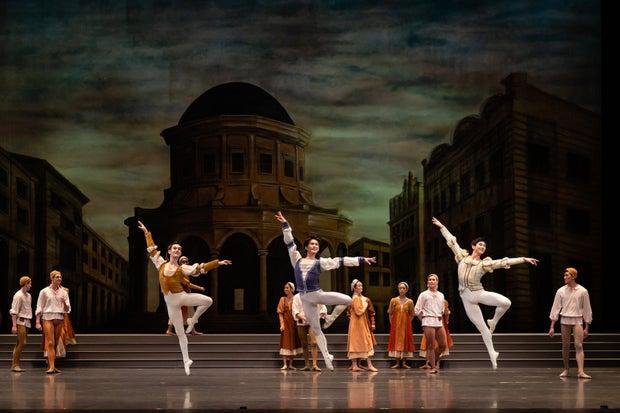 Gabrielle the gender gap in ballet