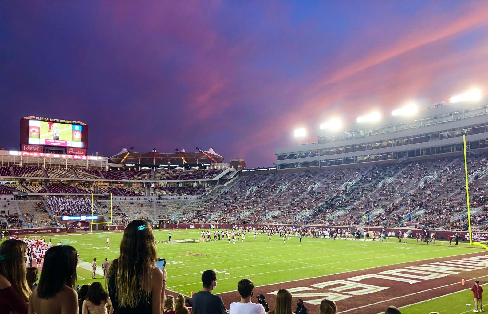 florida state football field
