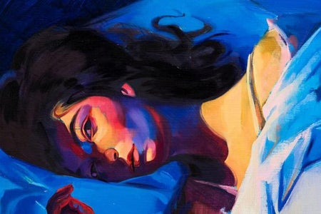 Melodrama by Lorde, album cover