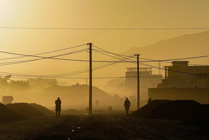sunrise in kabul, Afghanistan