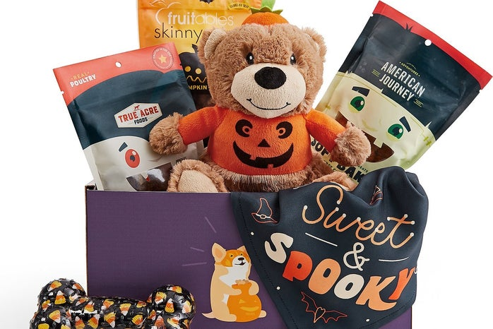 halloween goody box for dogs