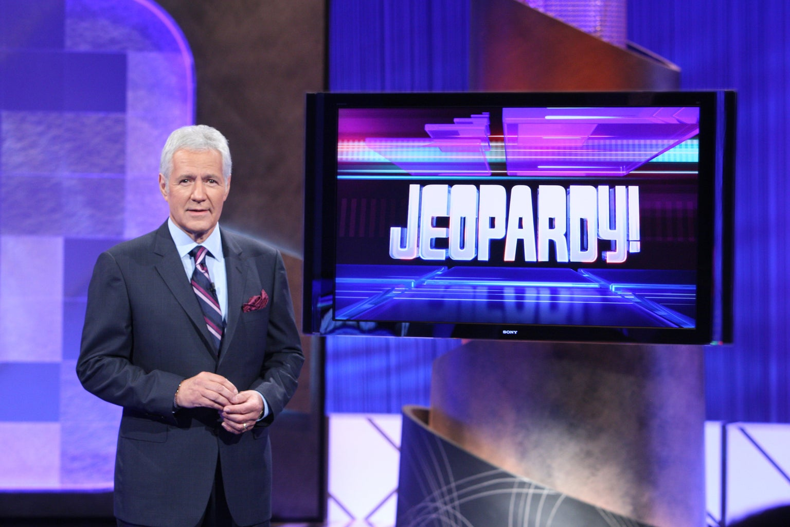 Alex Trebek of Jeopardy