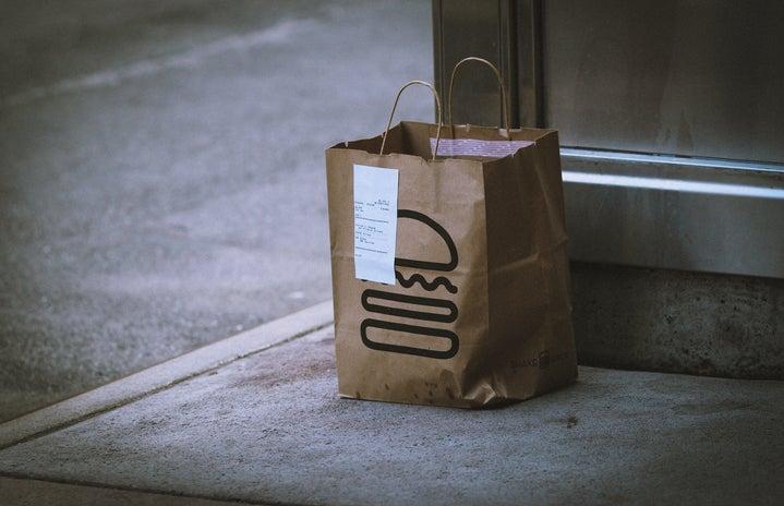 Shake Shack delivery bag