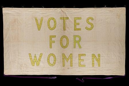 Women's suffrage flag