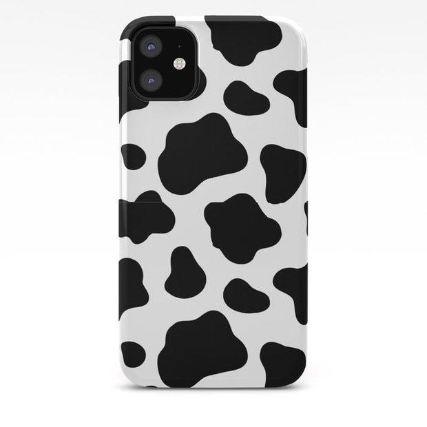 Cow Print iPhone Case