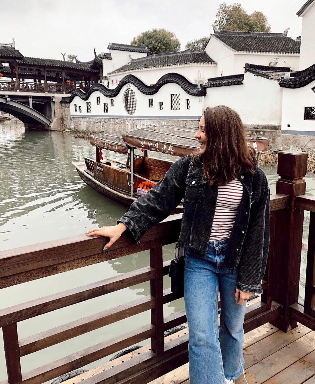 Victoria Harrison in Water Village