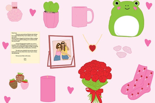 Valentine\'s Day Gifts with Hearts