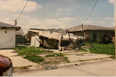 hurricane katrina pool destruction