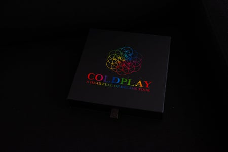 Coldplay album cover