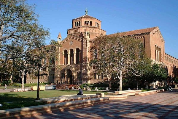 Wikimedia of UCLA campus